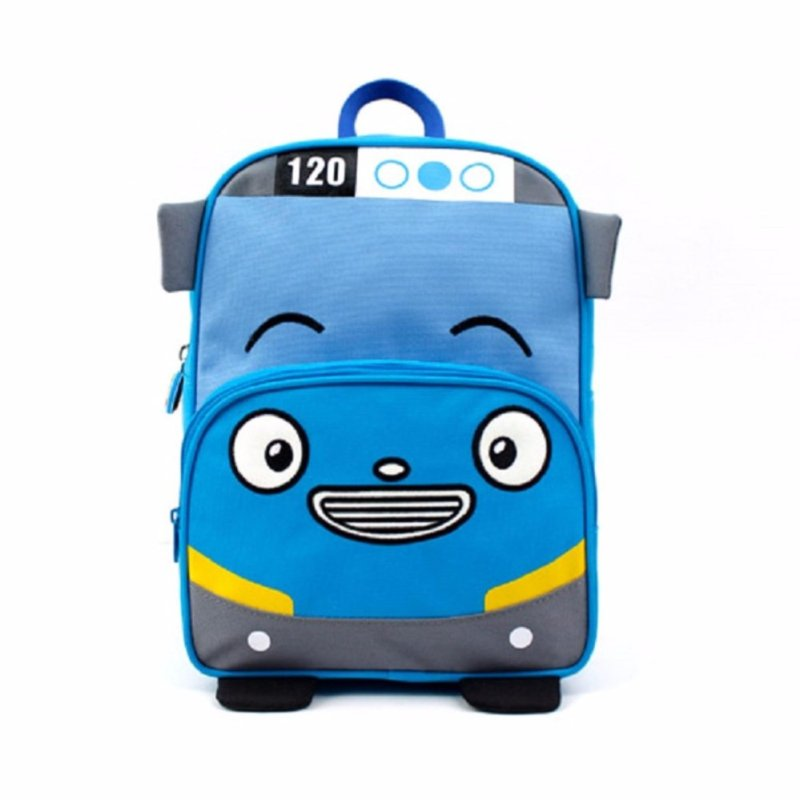 Tayo Bus Safety Harness backpack, Tayo Bus Backpack, Blue Color - intl