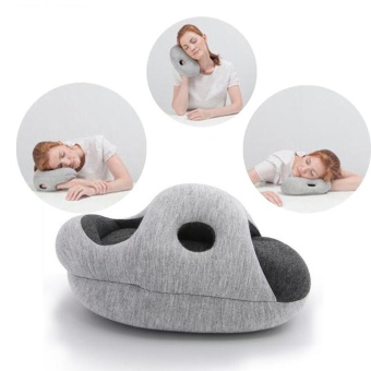 The Ostrich Hand Pillow Office Students Sleep on the Pillow (Color: Grey) - intl