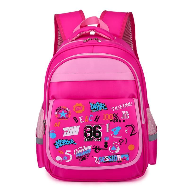 Tigernu 14 Kids Preschool Kindgarten Backpack Waterproof Nylon Backpack 3226 - intl