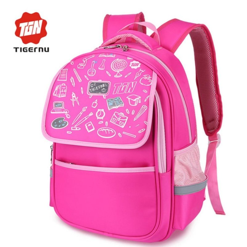 Tigernu Kids Preschool Kindgarten Backpack Waterproof Nylon Backpack 3226 - intl