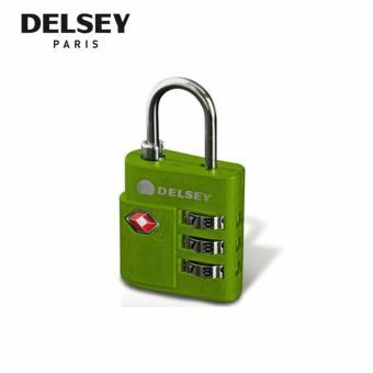 TN TSA 3-digit Combination Lock - Green