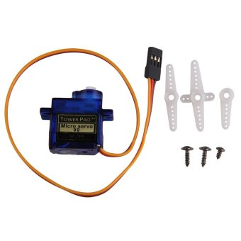 Harga TowerPro SG90 Micro 9g Servo For RC Helicopter Hitec JR FutabaAlign Trex - intl