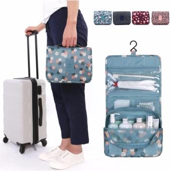 travel wash bag toiletry toiletries hanging folding bagnavy star