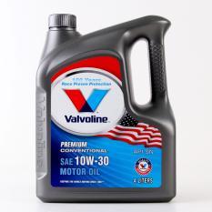 Valvoline Engine Oil - 10W30 SM/CF 4Litre Premium Conventional