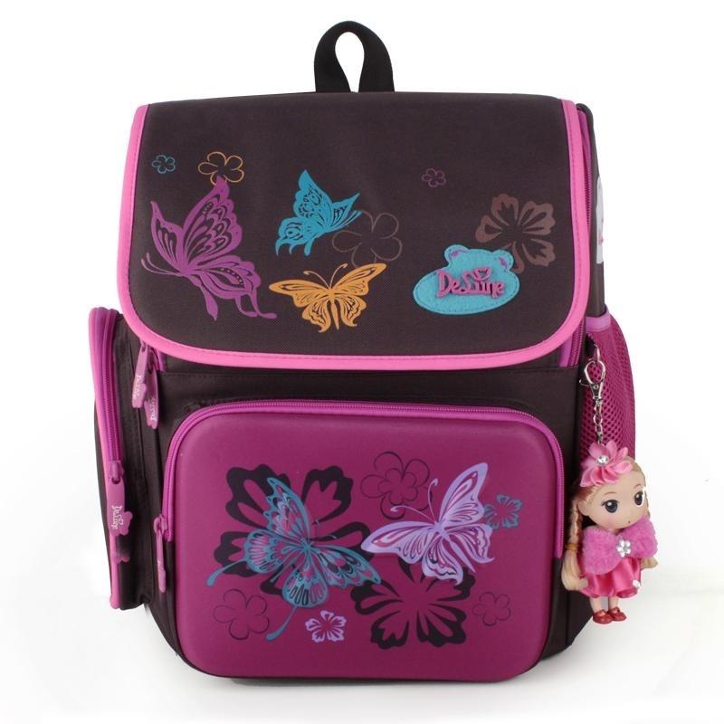 Wolf Who Girls Backpacks Primary School Bag Cartoon Pattern Backpack for Children - intl