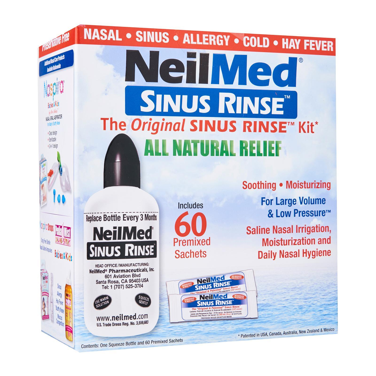NeilMed Sinus Rinse All Natural Relief Sachets - By Medic Drugstore