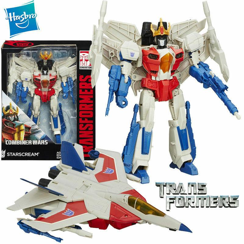 LARGE TRANSFORMERS COMBINER WARS THUNDERCRACKER LEADER CLASS ACTION FIGURES TOY
