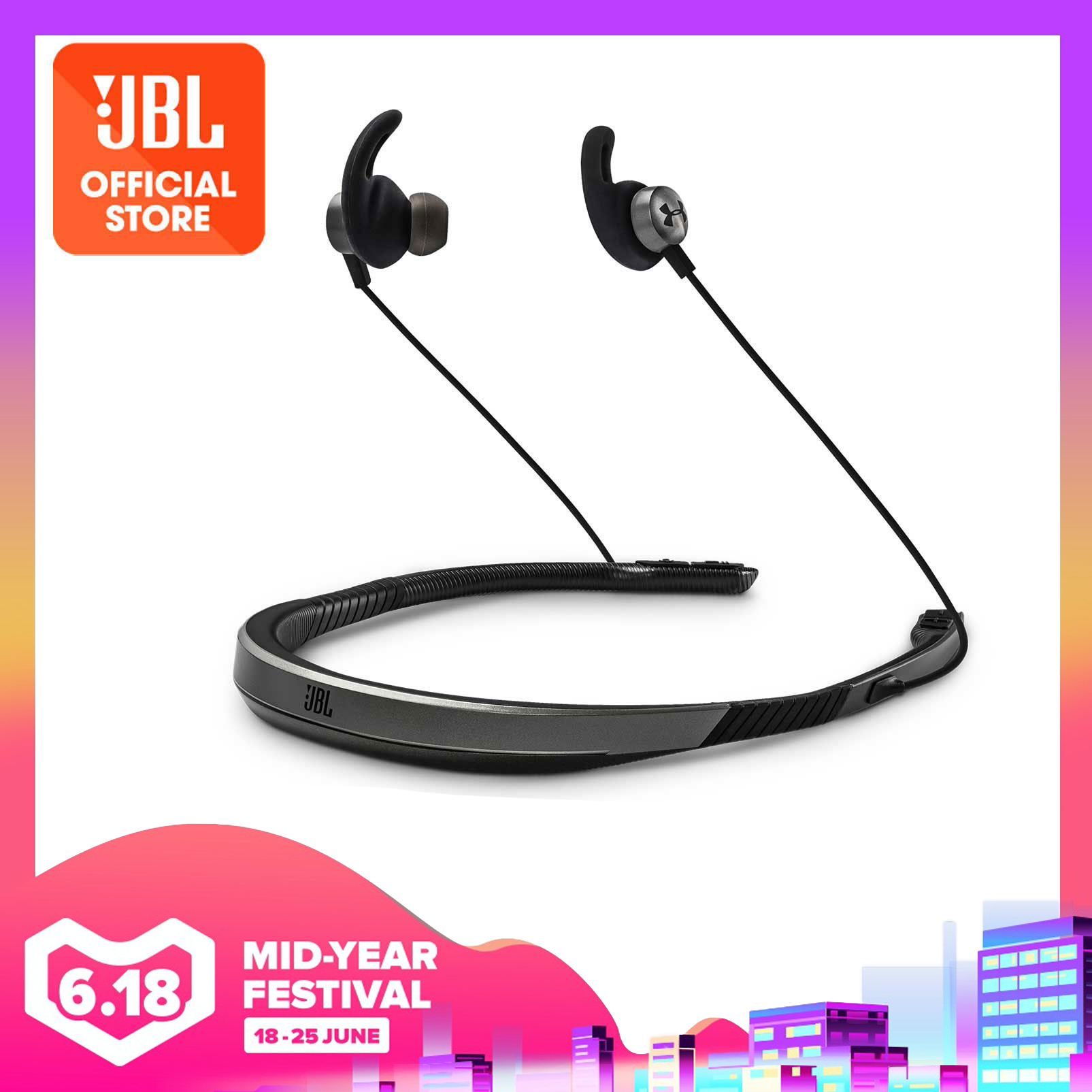 Under Armour Sport Wireless Flex – Engineered by JBL | Why Not Deals