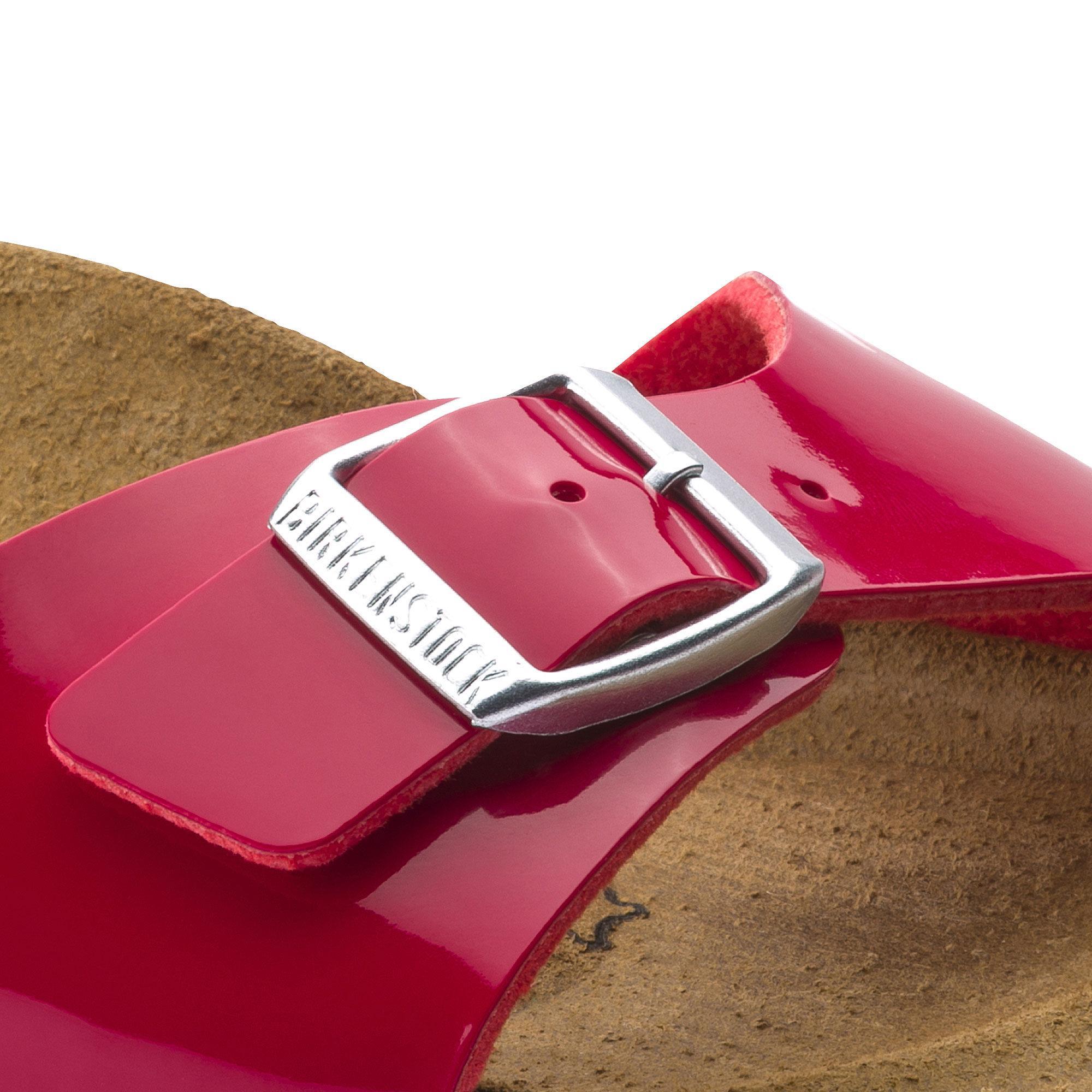 2399f38b6ccca Specifications of Birkenstocks Women Sandals Women Madrid Birko-Flor Patent  Tango Red Patent