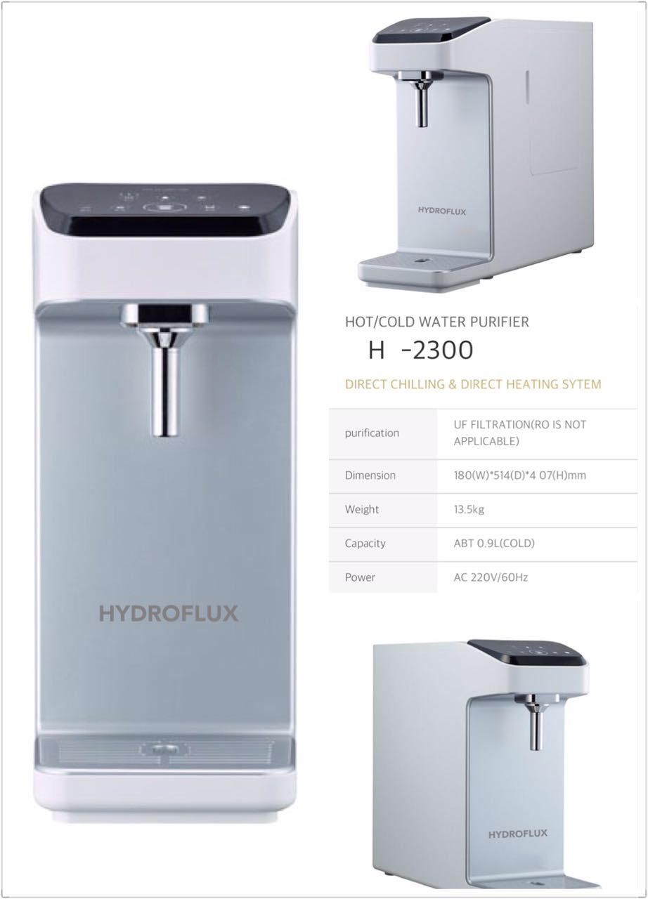 HYDROFLUX H-2300 Nano Direct Tankless Water Purifier