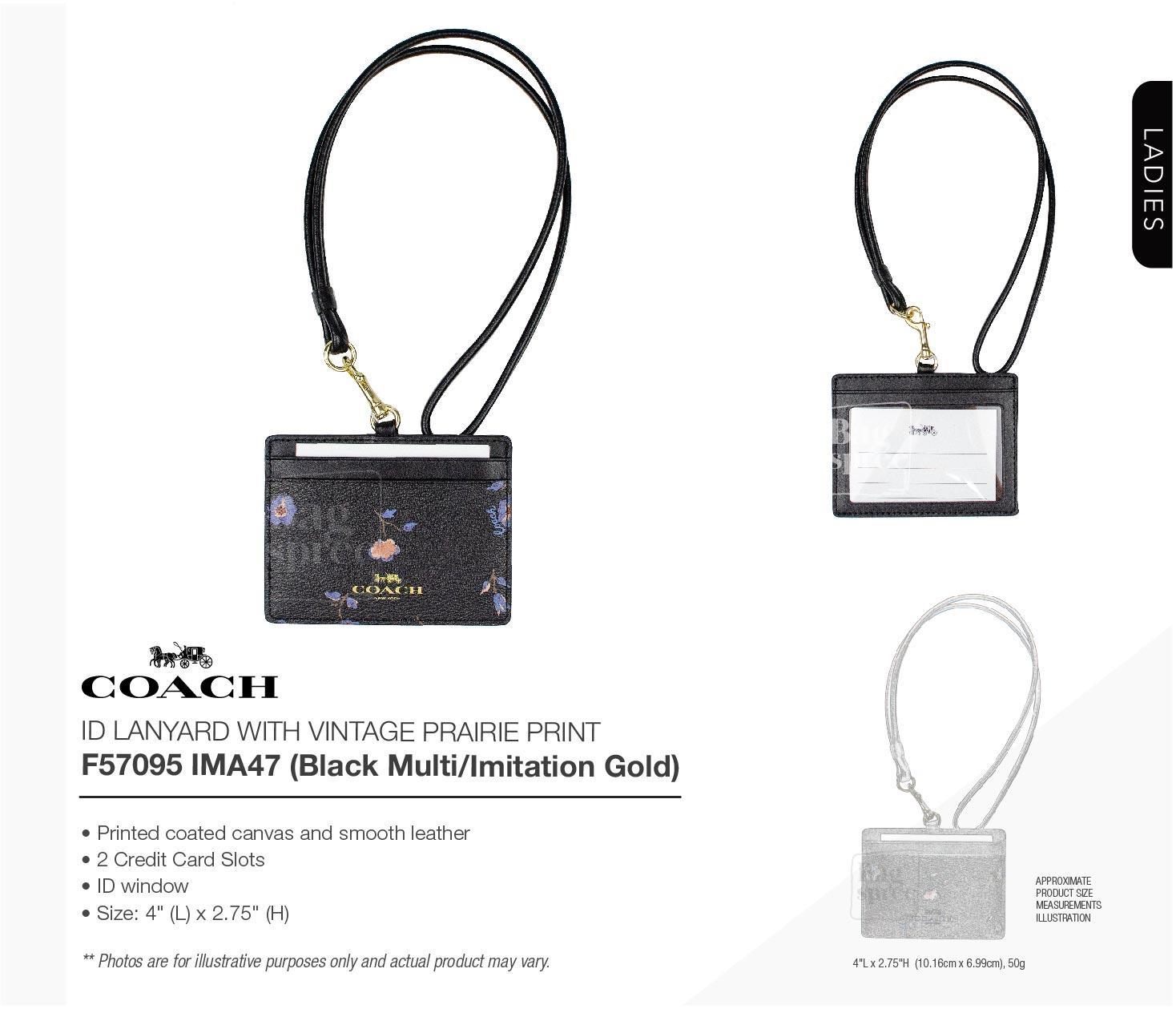 298dfc79 *Authentic & Brand New* Coach ID Lanyard F63274 F57095 [Gift Receipt  Provided] [OL]