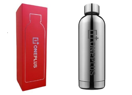 OnePlus Stainless Steel Flask (Silver) 3