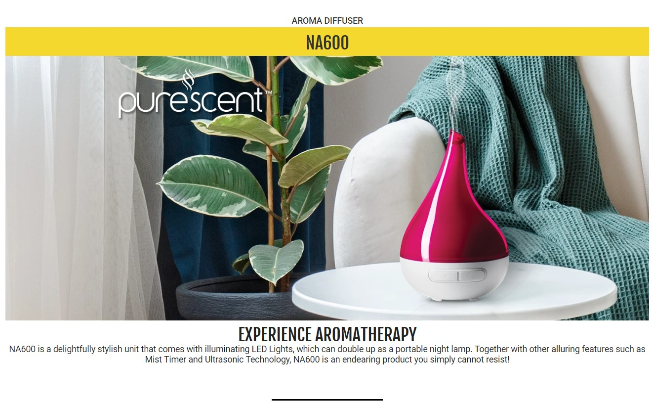 novita Aroma Diffuser NA600 Bundle with Air Purifying Solution Concentrate  & Anti-Bac Spray   Lazada Singapore