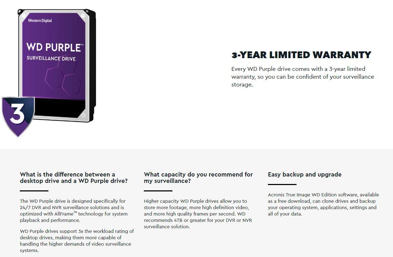 WD Purple 3 5