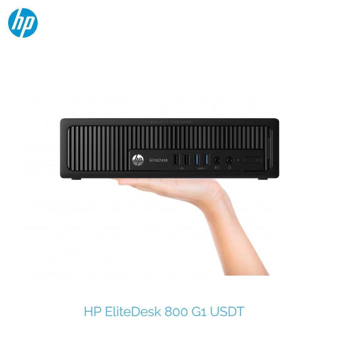 HP EliteDesk 800 G1 intel Mini PC Ultra Slim Desktop USDT PC Intel Core  i5-4570s 2 90GHz 8GB RAM 240GB SSD New Win 10 Pro free wifi / DP to HDMI  One