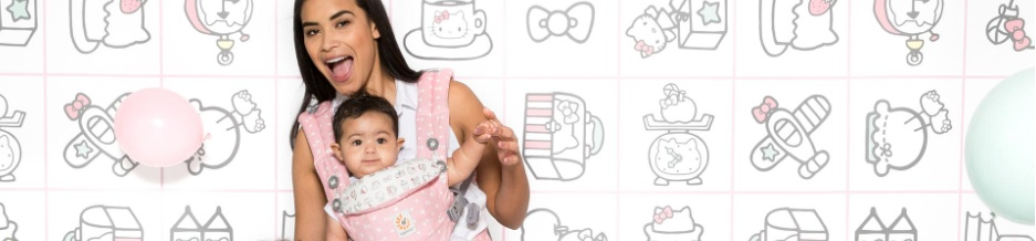Ergobaby Omni 360 Baby Carrier All-in-One Limited Edition Hello Kitty (Hello Kitty Blue)