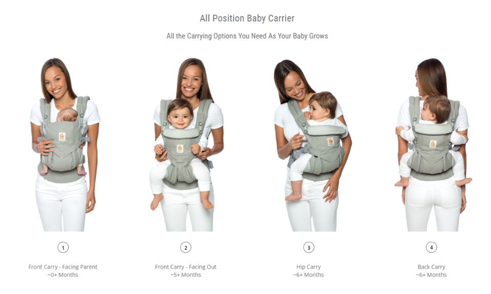 Ergobaby Omni 360 Baby Carrier All-in-One (Galaxy)