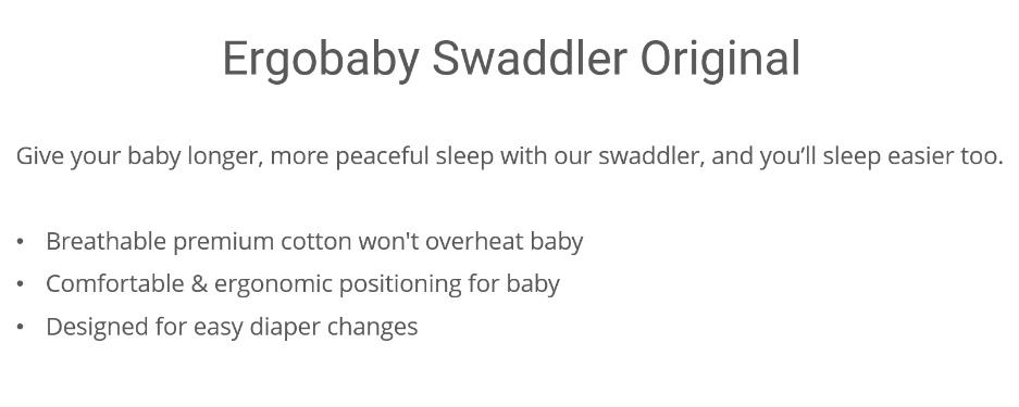 Ergobaby Swaddler Original (Heart To Heart)