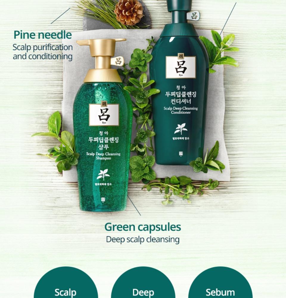 RYO Scalp Deep Cleansing Shampoo 400ml