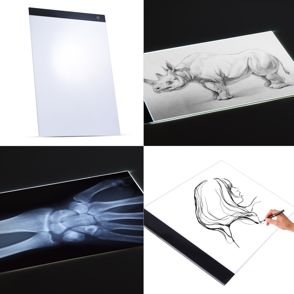A3 Led Light Pad Box Drawing Tracing Tracer Copy Board Intelligent Touch Control 3 Adjustable Brightness Levels Table Pad Panel Back To Search Resultstoys & Hobbies Gags & Practical Jokes